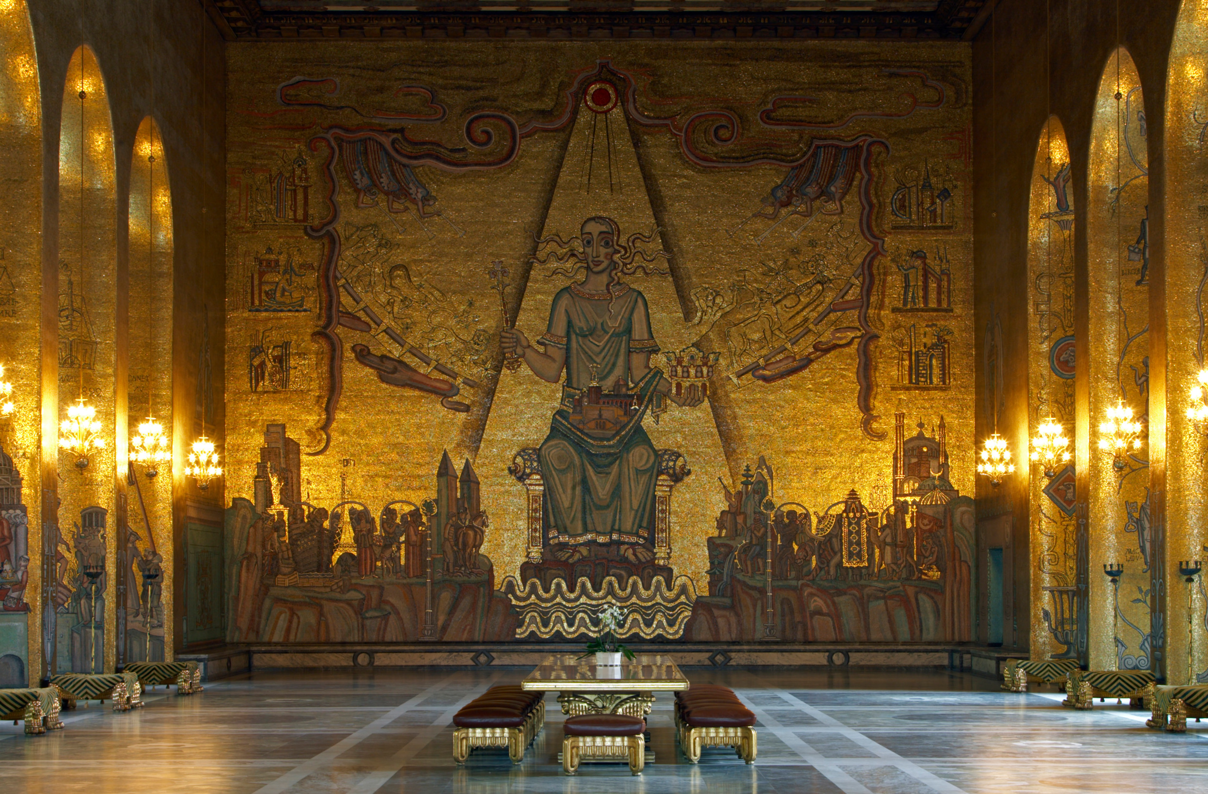 Golden Hall Stockholm